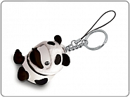 Breloczek - Kaczka w przebraniu Pandy