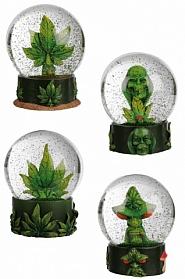 Szklana kula Cannabis