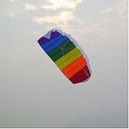 Latawiec  - Tęczowy Komorowy 3D Kite