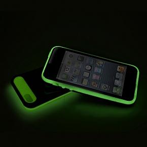 ETUI COVER IPhone 5 - 5S ŚWIECĄCY w CIEMNOŚCI
