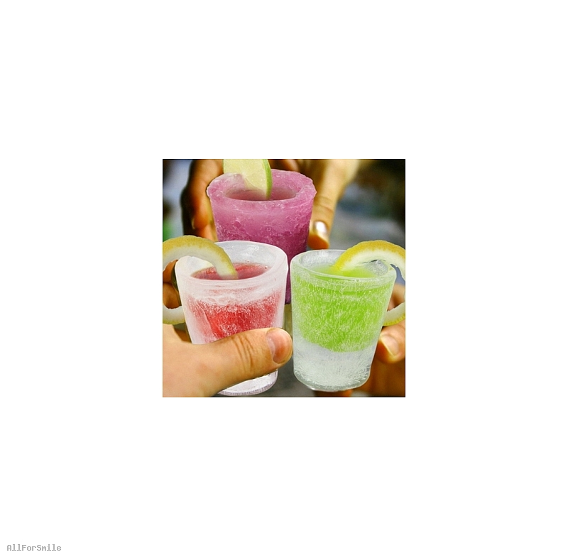 Kieliszki Lodowe 4-Pack ICE SHOT Glasses