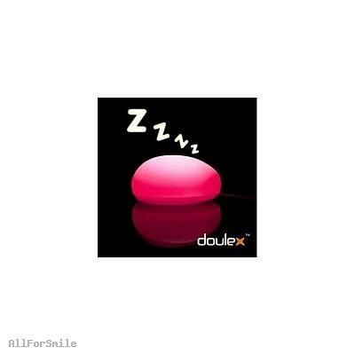 Lampka LED-mysz komputerowa (różowa)