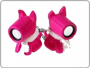 Głośniki PSY Różowe USB