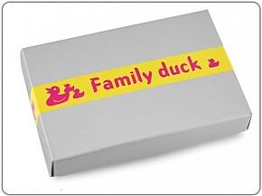 Breloczek Metal Duck Family